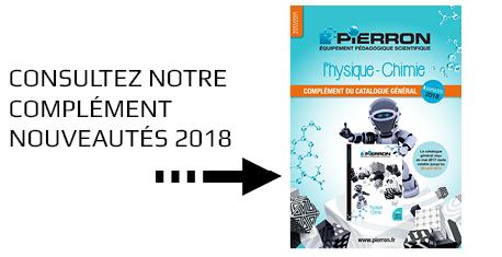 Complément nouveautés 2018 du catalogue Physique-Chimie 2017/2019