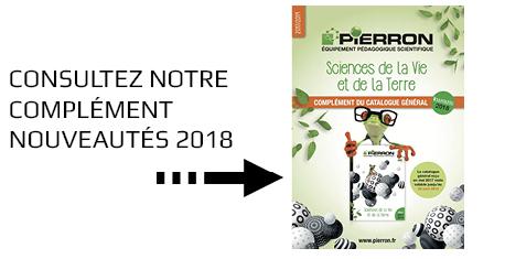 Complément nouveautés 2018 du catalogue SVT 2017/2019
