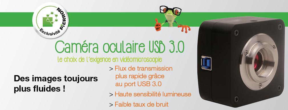 Caméra oculaire USB 3.0