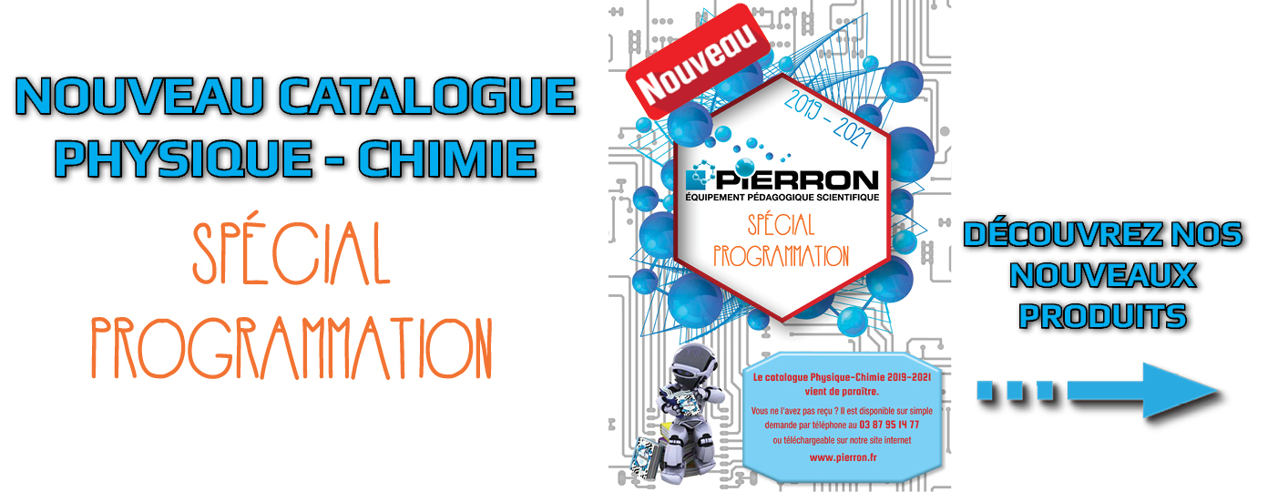 Catalogue Physique-Chimie - Spécial Programmation