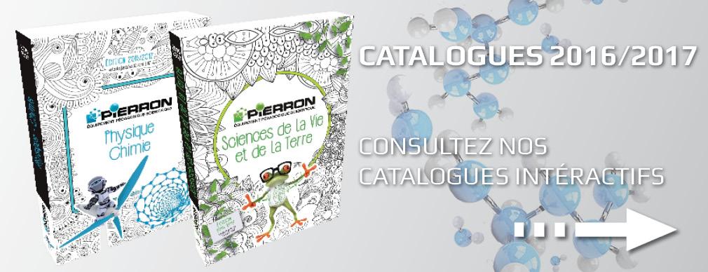 Nouveaux catalogues