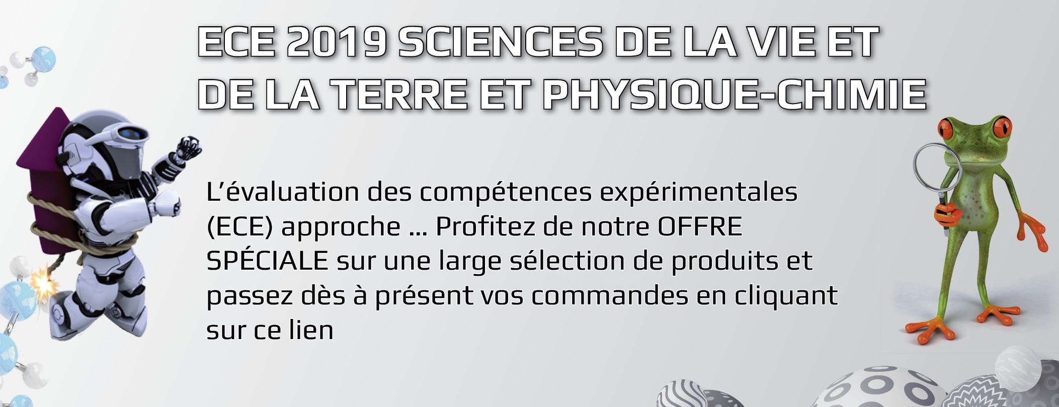 ECE 2019 Sciences de la Vie et de la Terre et Physique-Chimie