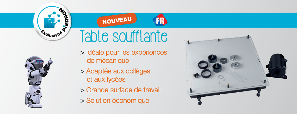 Table soufflante