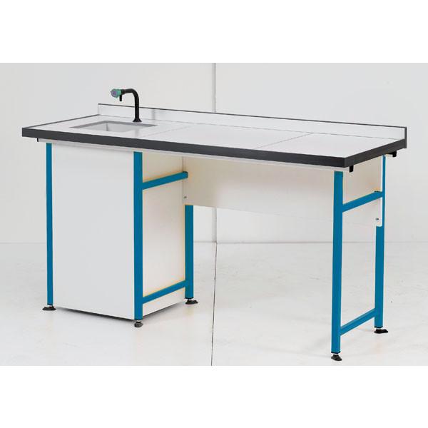 Modèle présenté : Table 2 élèves cuve à gauche