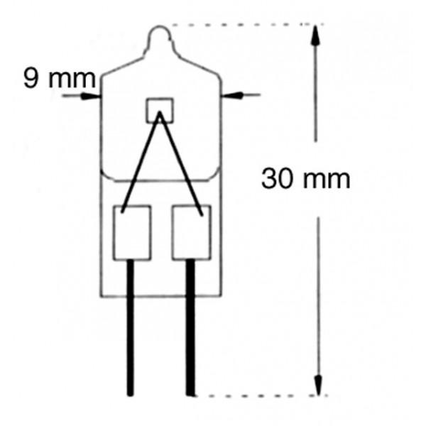 A - B - C - Lampes halogènes 03365.20 - 02937.20 - 02505.20
