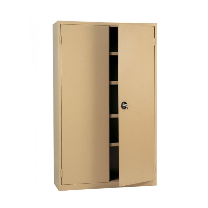 Armoire métallique portes battantes largeur 1200 mm - Pierron