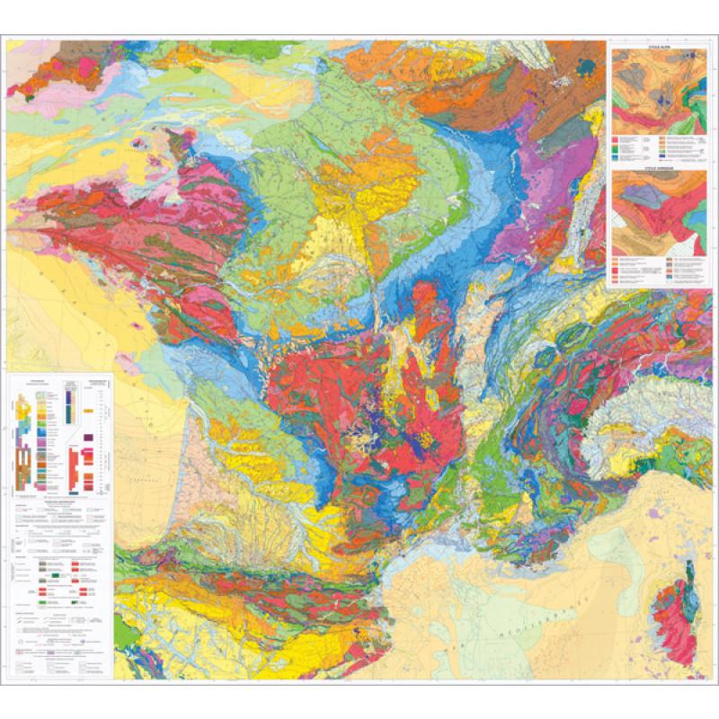 Carte Geologique De France Pierron