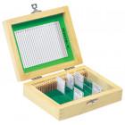 Boîte de rangement en bois 25 lames
