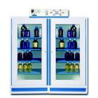 Armoire double à 2 compartiments  à filtre organique et corrosif