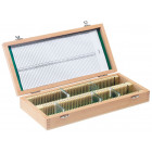 Boîte de rangement en bois 100 lames