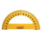 Rapporteur 180° plastique qualité économique 50cm magnétique