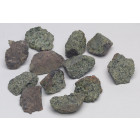 Rhyolite blanche (lot de 6 fragments)