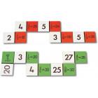 Dominos : fraction du nombre