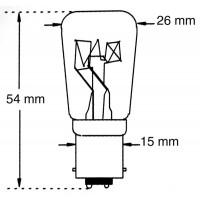 Ampoule Tungstène 230V-25W