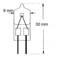 Ampoule Halogène 6V-20W