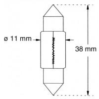 Ampoule Tungstène 12V-10W