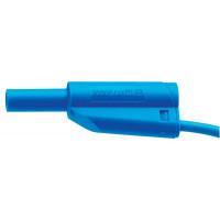 Cordons de sécurité à reprise arrière 10 cm bleu
