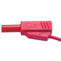 Cordons de sécurité à reprise arrière 50 cm rouge qualité supérieur type Radiall