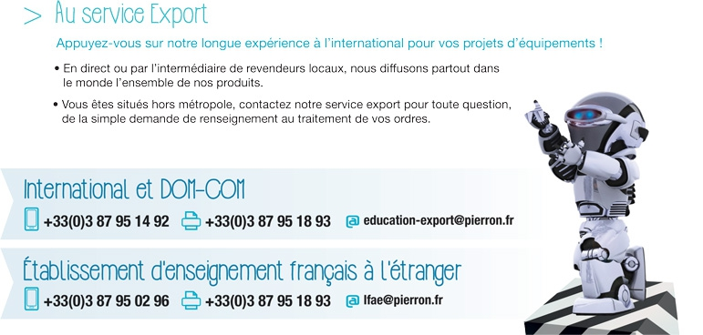 Vos interlocuteurs pour l'Export