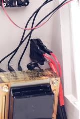 Exemple de câblage dans une alimentation Elégance